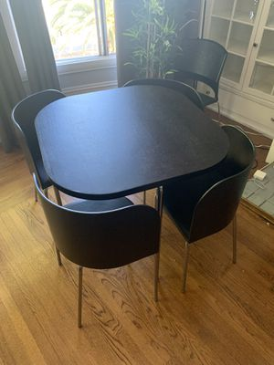 Ikea Fusion chair + table set for Sale in San Francisco, CA