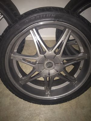 24 inch rims for Tahoe 6 lug for Sale in Baltimore, MD