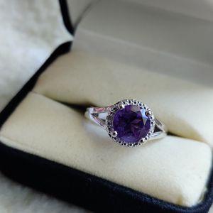 Amethyst & Diamond Silver Ring for Sale in Phoenix, AZ