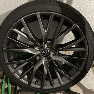 20 Inch Lexus Rims And Tires From RX350 for Sale in Attleboro, MA