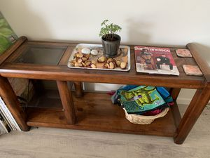 Wooden Table for Entertainment Center or Entryway for Sale in San Francisco, CA