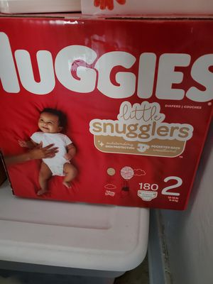 Size 2 Huggies 180ct for Sale in Redlands, CA