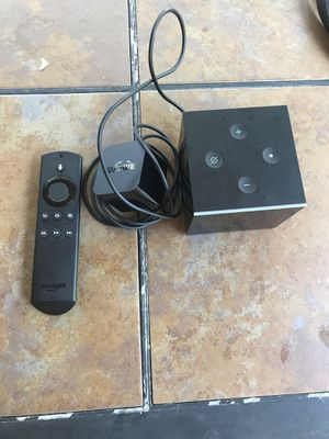 Amazon fire tv cube for Sale in Manor, TX