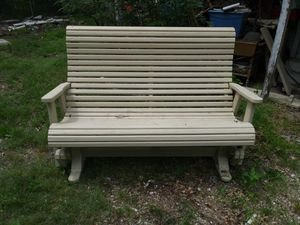 Wooden front porch swing for Sale in McKinney, TX