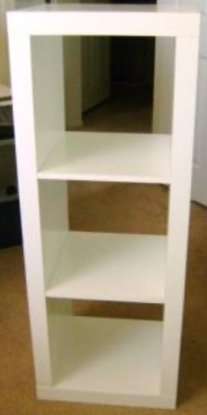 New!! Storage Organizer, Bookcase,Shelf Unit,3 Cube Organizer-White for Sale in Phoenix, AZ