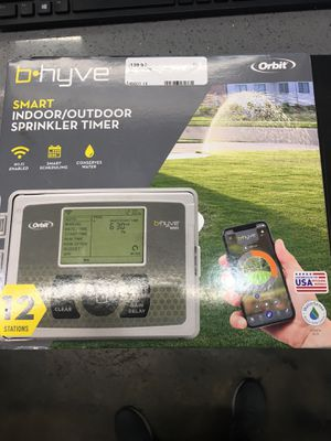 Bhyve sprinkler system for Sale in Irwindale, CA