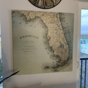 Florida Canvas Art Set for Sale in St. Petersburg, FL