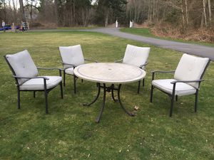 Patio outdoor furniture dining set for Sale in Maple Valley, WA