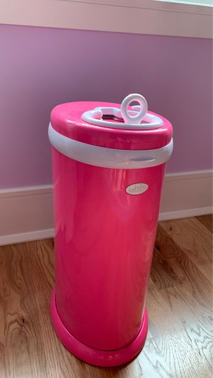 Ubbi Steel Diaper Pail, Hot Pink for Sale in Fair Haven, NJ