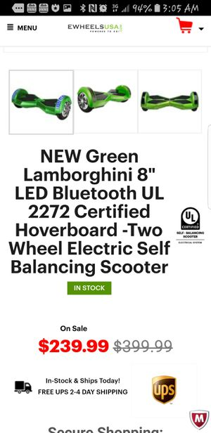 Electric hoverboard for Sale in Kent, WA
