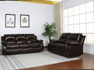 CLOSEOUTS LIQUIDATIONS SALE BRAND NEW RECLINERS COMFORTABLE SOFA AND LOVESEAT ALL NEW FURNITURE G U 00F for Sale in Pomona, CA
