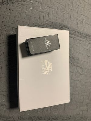 Black Air Force 1 and Mr. Burberry cologne bundle for Sale in Madera, CA