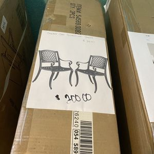 Outdoor Cast Aluminum Chairs NEW for Sale in Fort Worth, TX