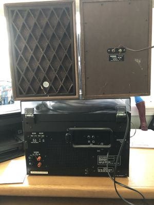 Two Record Players & Speakers for Sale in Puyallup, WA
