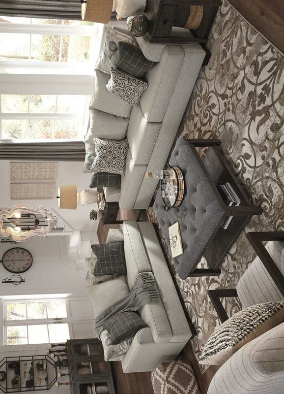 [SPECIAL] Velletri Pewter Living Room Set