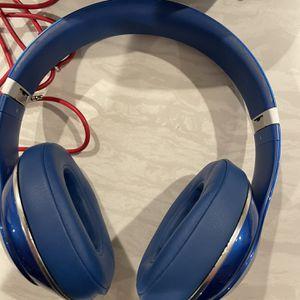 Mint Beats Studios 2 Wireless Blue W Case for Sale in Menifee, CA