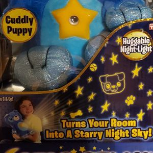 Cuddly Puppy Star Belly Dream Light for Sale in Ringwood, NJ