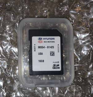 Hyundai Navigation SD Card 96554-B1423 for Sale in Lake Forest, CA