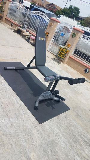 600lbs Capacity OLYMPIC Adjustable bench with leg developer for Sale in Montebello, CA