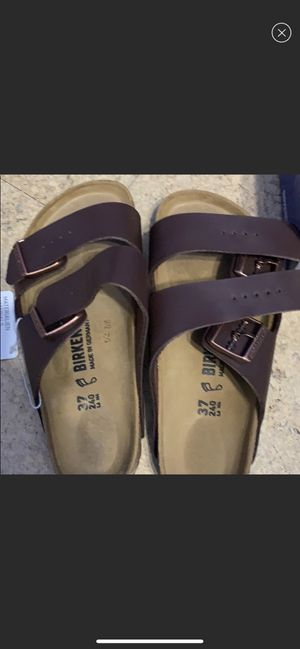 Birkenstock Arizona 37 regular BRAND NEW for Sale in Garland, TX
