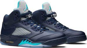 Men's Nike Air Jordan 5 Retro, Size 10 US, Pre-Grape, Midnight Navy for Sale in New York, NY