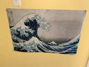 Poster with waves for Sale in Rockville, MD