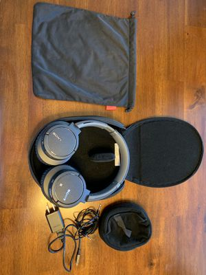 Sony Wireless noise cancelling headphones - used once for Sale in Vancouver, WA