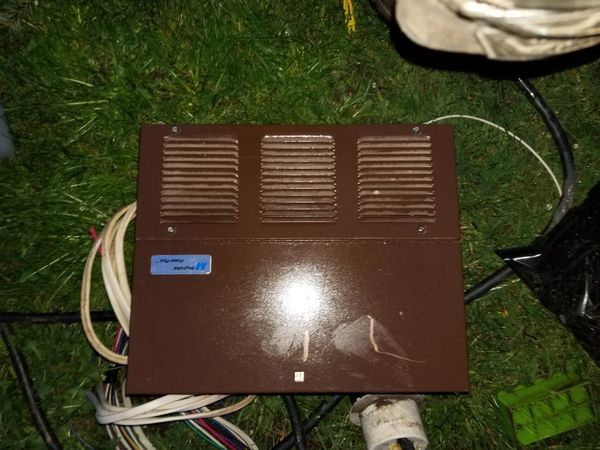 Travel trailer/ RV converter and fuse panel