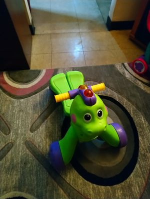 Baby walker, riding toy dragon for Sale in Cottage Hills, IL