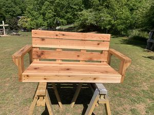 Handmade Wooden Porch Swing for Sale in Central, SC