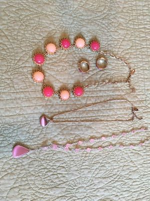 Lot of pink costume jewelry for Sale in Arvada, CO
