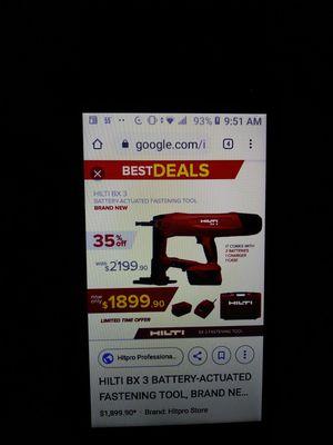 BX3 HILTE NAIL GUN. for Sale in Dallas, TX