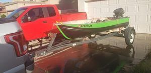 12 ft aluminum boat for Sale in Glendale, AZ