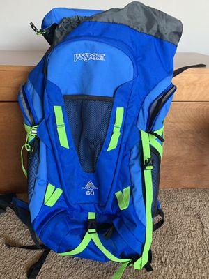 Jansport Katahdin 60 liter backpack for Sale in Seattle, WA