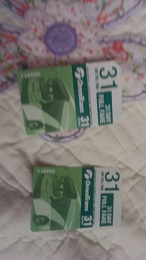 New bus pass 4 left for 1 $40 each for Sale in Highland, CA
