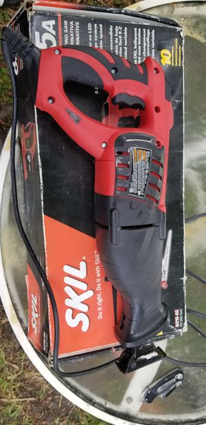 Skil 8.5a reciprocating saw for Sale in Hollywood, FL