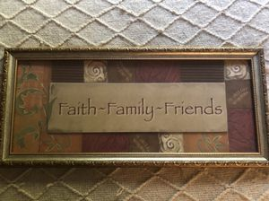 free Faith~Family~Friends picture/decor for Sale in York, PA