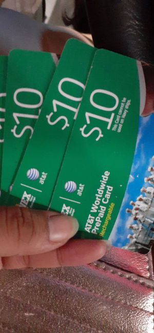 Prepay card. For call anywhere. for Sale in Newport News, VA