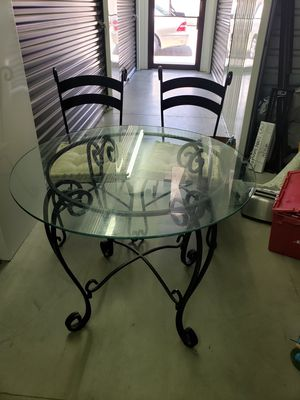 Pier One Imports Dining Area Table with 2 Chairs for Sale in Wichita, KS