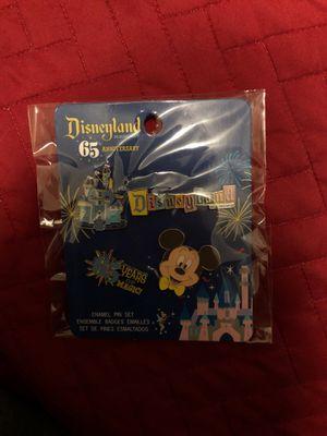 Disneyland 65th Anniversary 4 Enamel Pin Set Disney Target Funko for Sale in Wood Dale, IL