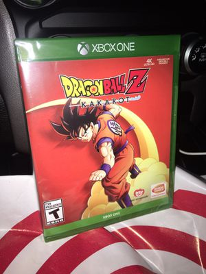 Dragon ball Z Kakarot Xbox One Brand New Sealed for Sale in Moreno Valley, CA