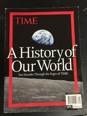 Time Magazine - A History of Our World for Sale in Essex Junction, VT