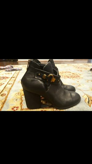 ISOLA BLACK LEATHER Boots 6.5 M for Sale in Accokeek, MD