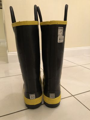 Firefighter Brand New Rubber Boots for Sale in Pembroke Pines, FL