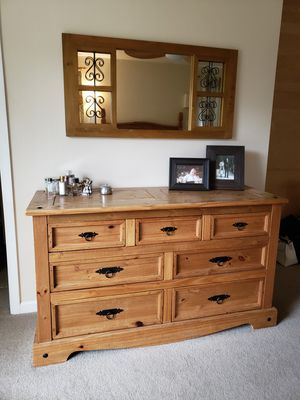 Pier One Imports......Dresser and Mirror for Sale in Castro Valley, CA