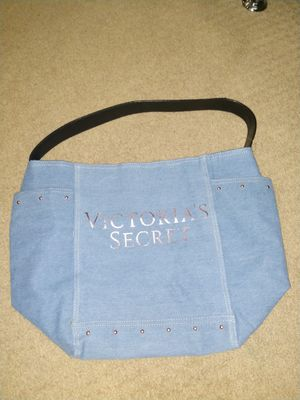 Victoria's Secret denim bag! for Sale in Cadillac, MI
