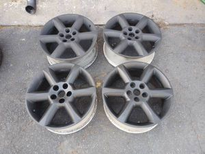Nissan 18 inch alloy rims, 5 on 4.5 fits many cars for Sale in Montebello, CA