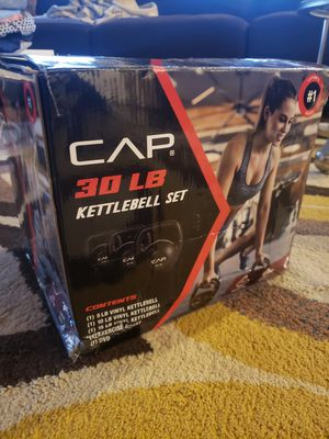 Cap 30 Pound Kettlebell Set for Sale in Mount Clemens, MI