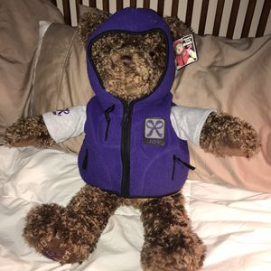 "Gund Millenium 24"" Brown Joy Wish Teddy Bear with Jacket 2000 NWT for Sale in Corona, CA"