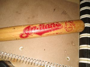 Mini Cleveland Indians baseball bat for Sale in Columbus, OH
